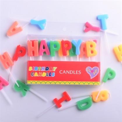 加價購 HAPPY BIRTHDAY蠟燭 / 生日蠟燭 / 字母蠟燭