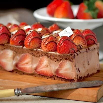 罪惡草莓蛋糕