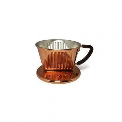 Kalita 簡易沖泡 101銅製三孔濾杯