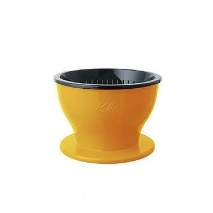 Kalita Dual Dripper 雙層咖啡濾杯 黃