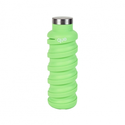 que Bottle 伸縮水瓶 (青草綠 600ml)