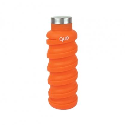 que Bottle 伸縮水瓶 (耀眼橘 600ml)