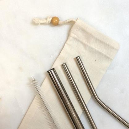 QC館 食品級 不鏽鋼吸管 超值全組 SUS 304L