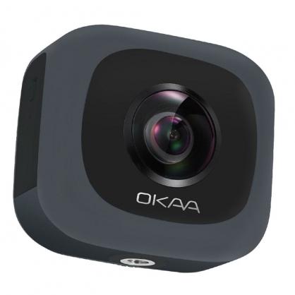 亞果元素 360° 全景相機黑 OKAA LIFE VR (黑色)