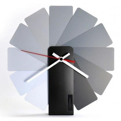 Transformer時鐘 (灰色扇葉/黑色主體)