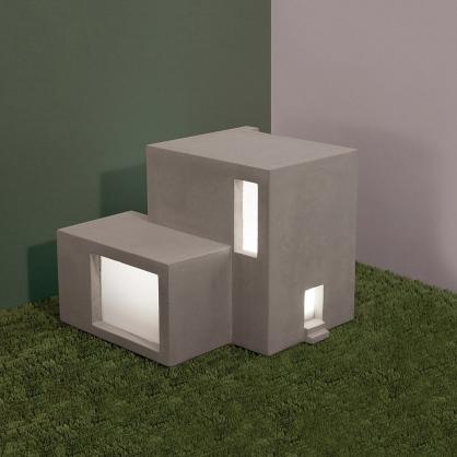 Doiy 建築光 檯燈(立方體)