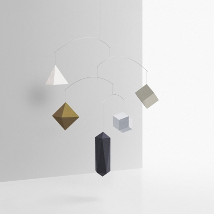 Small Good Things DIY平衡幾何吊飾 (金屬色)