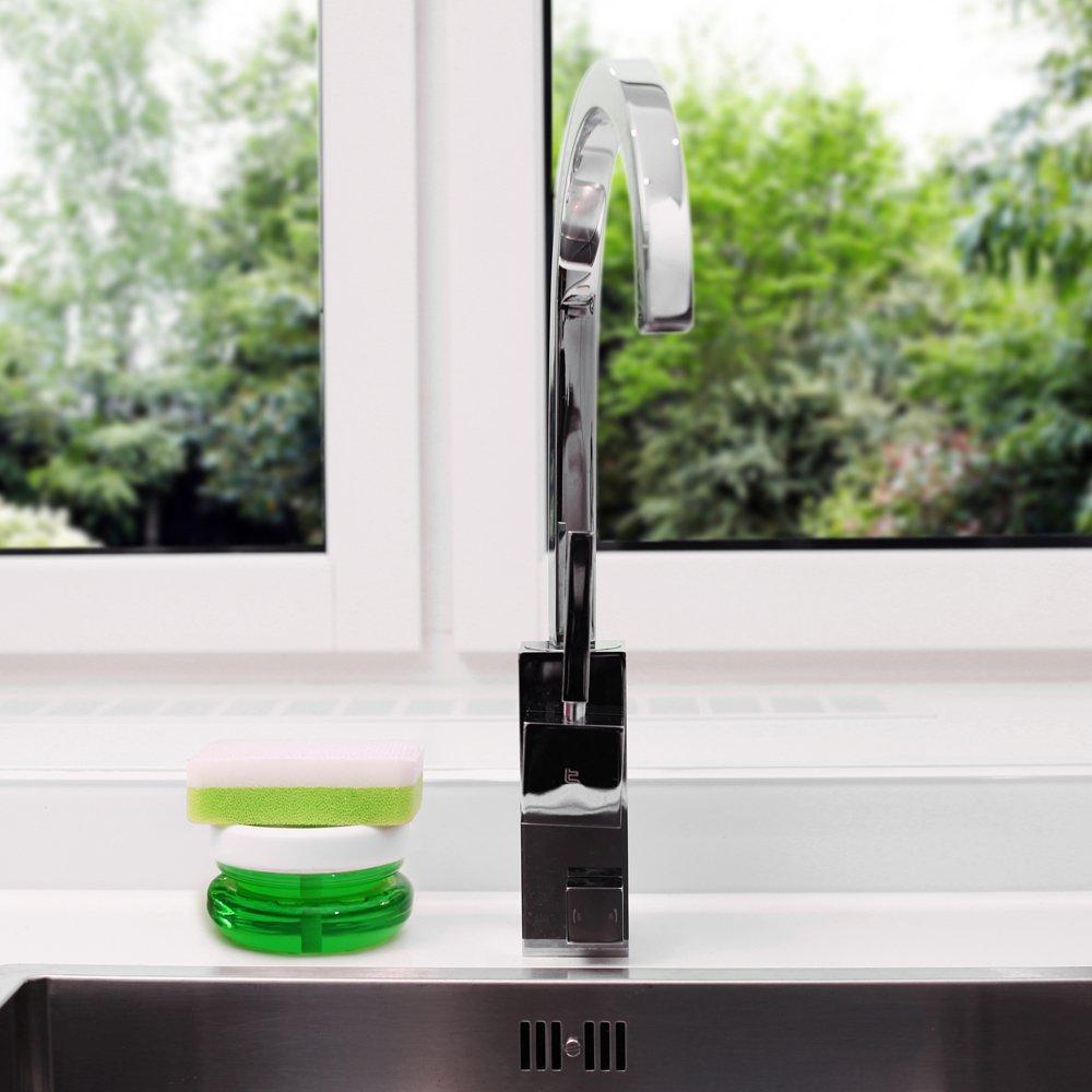 瑞典 BOSIGN 輕巧環保給皂罐 (純淨白)