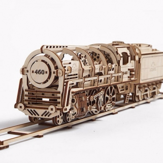Ugears 蒸汽火車頭 Locomotive