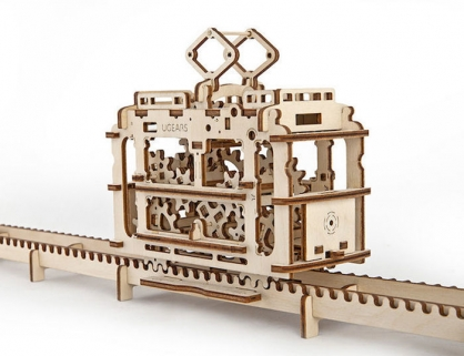 Ugears 輕軌電車 Tram with rails