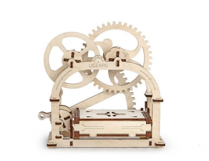 Ugears 機動名片盒 Mechanical Etui