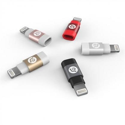 PeAk A1 迷你轉接頭 Micro USB - Lightning (五色)