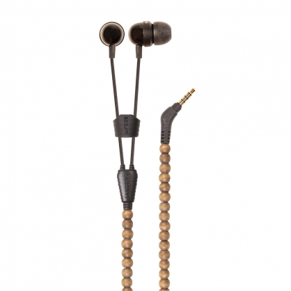 Wraps Natural 時尚自然系手環耳機 (原木棕)