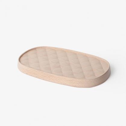 pana objects 菱格飾品收納盤 (L)