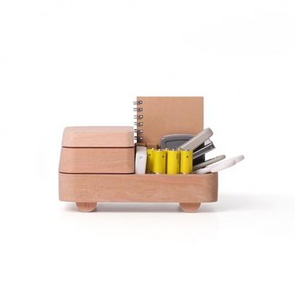 pana objects 疊疊小木車收納盤