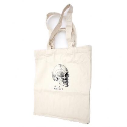 【活動限定組合】靈感咖啡+賽先生 Forever 標本二用布包(五款,頭骨)