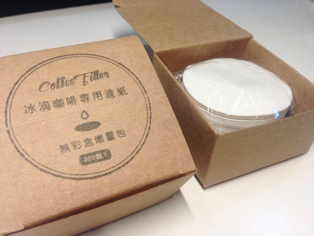 MY Dutch 醇淨冰滴咖啡壺 無彩盒增量版濾紙(60mm/200張)