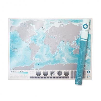 Luckies 地圖刮刮樂 世界地圖篇 (海洋版)
