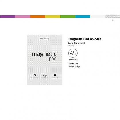 MAGNETIC 磁力便利貼(A5)七色可選