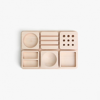 pana objects 豆腐積木-文具收納盤(大)