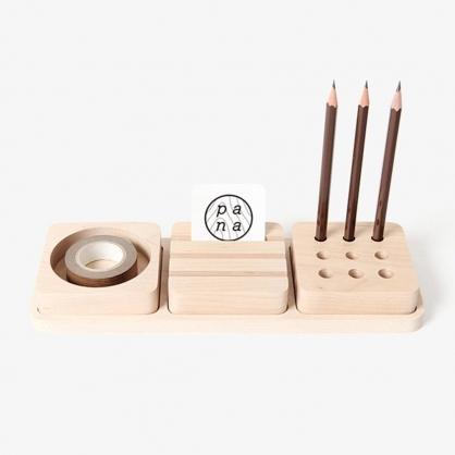 pana objects 豆腐積木-文具收納盤(小)
