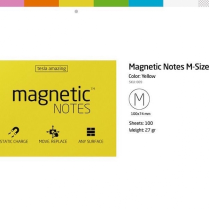 MAGNETIC 磁力便利貼(M)六色可選
