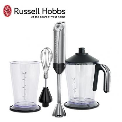 英國羅素 Russell Hobbs 專業型手持調理棒 18274TW 全配組