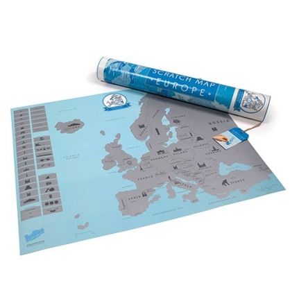Luckies 地圖刮刮樂 歐洲地圖篇 (美食版)