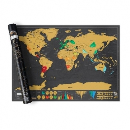 Luckies 地圖刮刮樂 世界地圖篇 (豪華版)