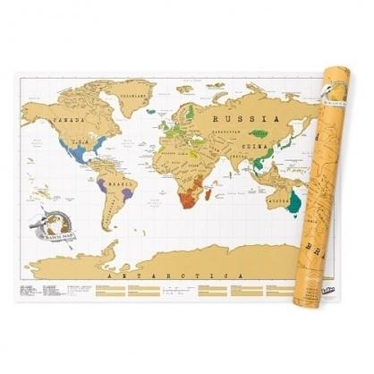 Luckies 地圖刮刮樂 世界地圖篇 (一般版)