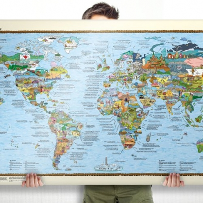 Bucketlist 世界地圖 (基本版)