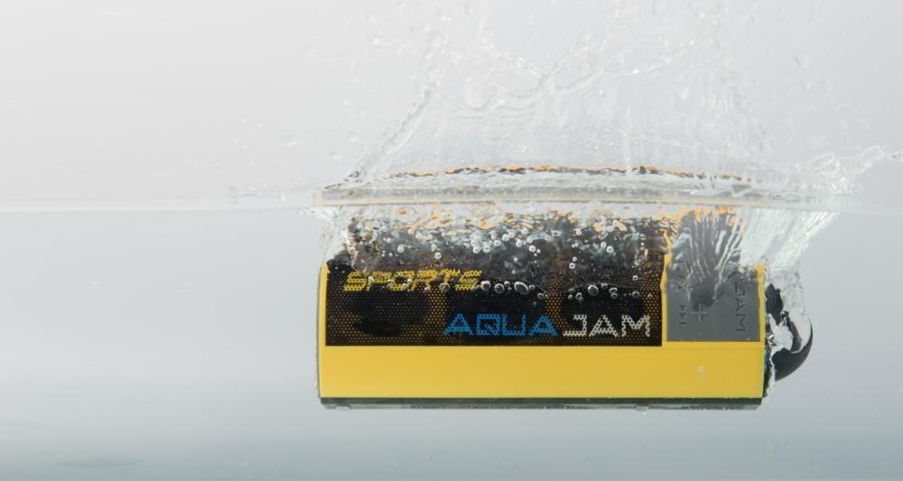 澳洲 AQUA JAM 防水藍牙無線喇叭 AJ 2(黃色)