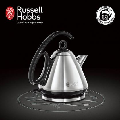 英國Russell Hobbs Legacy 晶亮快煮壺(晶亮銀)
