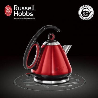 英國羅素 Russell Hobbs Legacy 晶亮快煮壺(晶亮紅)