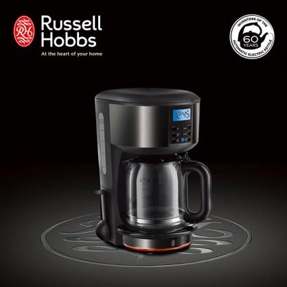 英國Russell Hobbs Legacy 晶亮咖啡機(晶亮黑)