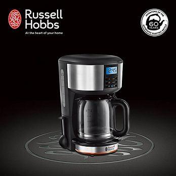 英國Russell Hobbs Legacy 晶亮咖啡機(晶亮銀)