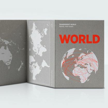 Palomar 描一描透明地圖 世界版