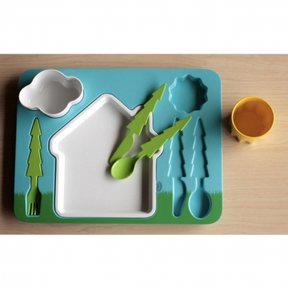 Doiy 風景拼盤兒童餐組