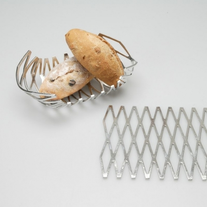 NOUSAKU 能作 任意變形 100%純錫 置物籃 (蜂巢)