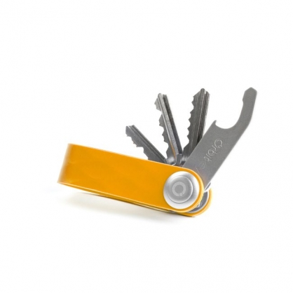 Orbitkey 整齊收納 鑰匙圈(矽膠款,元氣橘)