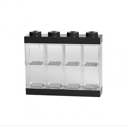 LEGO® 8格模型人展示盒 (黑色)