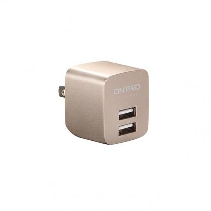 ONPRO 雙輸出極速充電器 UC-2P01 限量金屬色 (典藏金)