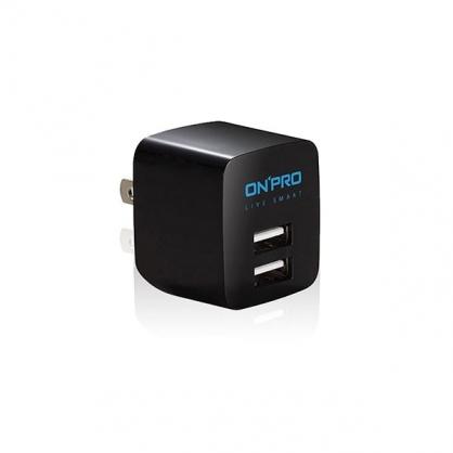 ONPRO 雙輸出極速充電器 UC-2P01  (深夜黑)