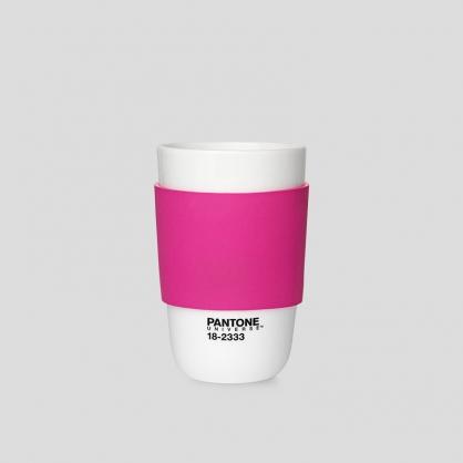 Pantone 色票經典隔熱杯 (紅莓粉)