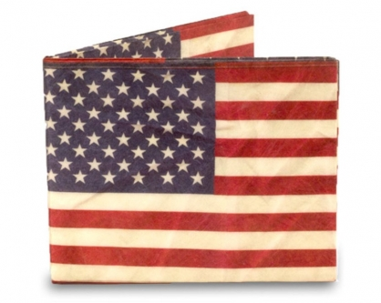 DYNOMIGHTY Mighty Wallet®  紙皮夾 Stars and Stripes