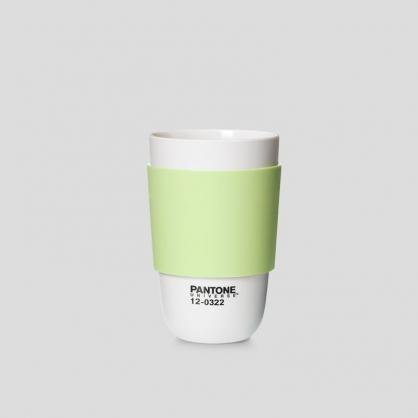 Pantone 色票經典隔熱杯 (抹茶牛奶)