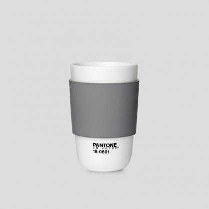 Pantone 色票經典隔熱杯 (水墨灰)