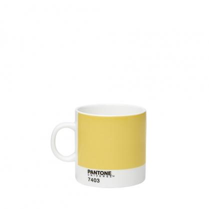 Pantone 色票濃縮杯 (暖心黃)
