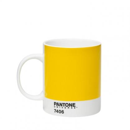 Pantone 色票馬克杯 7406 璀燦黃
