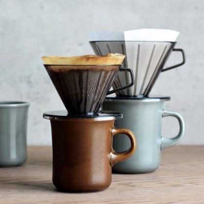 KINTO 咖啡濾杯 淡灰 (2人)